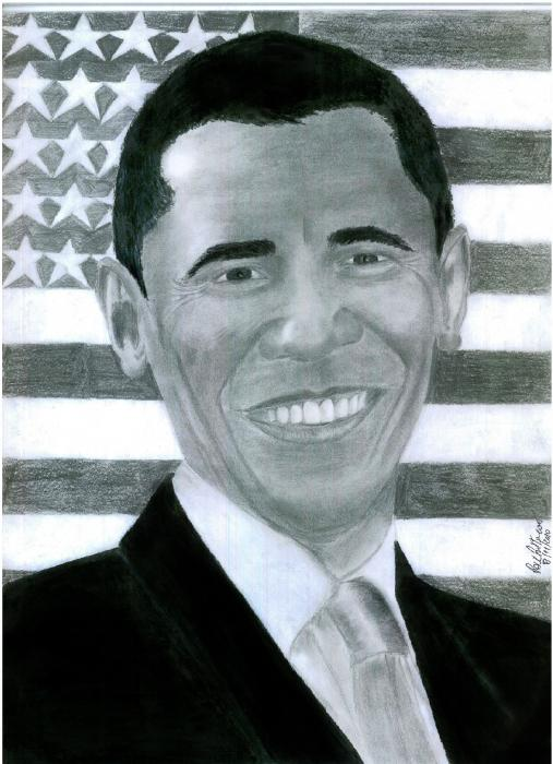 Barack Obama by himurapt